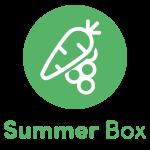 Local Organic Vegetables. Eat Local Muskoka. Summer Box