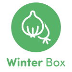 Local Organic Vegetables. Eat Local Muskoka. Winter Box