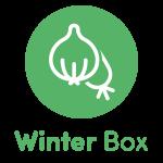 Local Organic Vegetables. Eat Local Muskoka. Winter Box